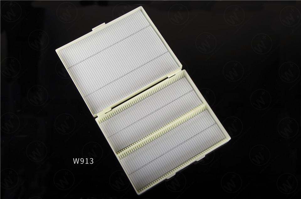 100 grids specimen-box for glass slide storage